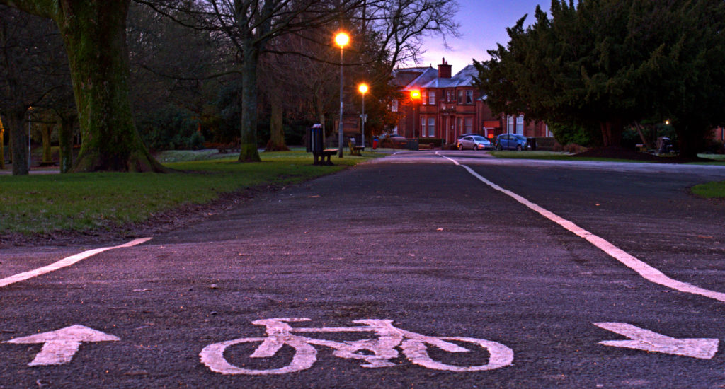 Cycling infra design principles: cohesion