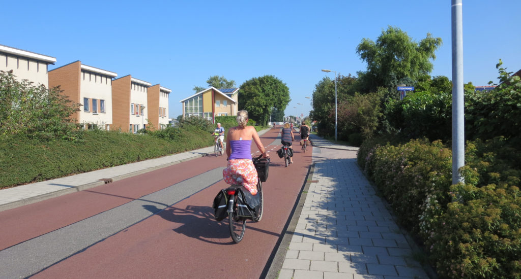 Examples of successful cycling infrastructure: Alkmaar's bicycle street