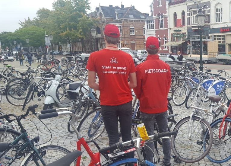 Successful pilot bicycle coaches in Maastricht
